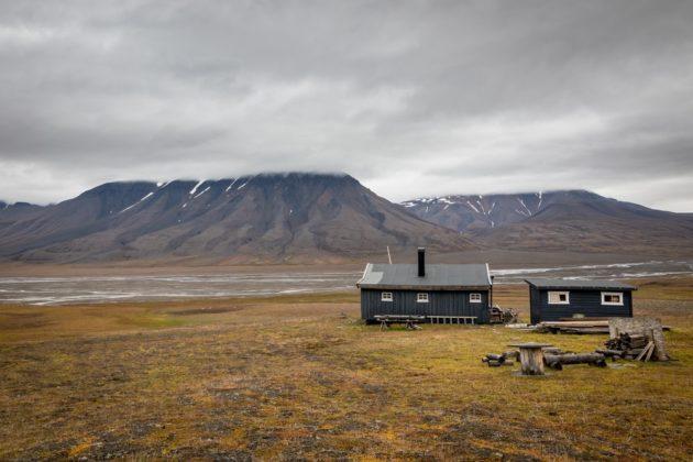 Longyearbyen Spitzbergák fővárosa