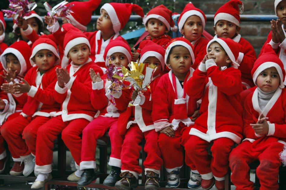 Karácsony Indiában
