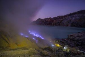 Ijen vulkán Jáva Indonézia