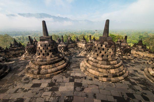 Borobudur sztúpa templom Jáva Indonézia