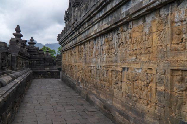 Borobudur sztúpa Indonéziában