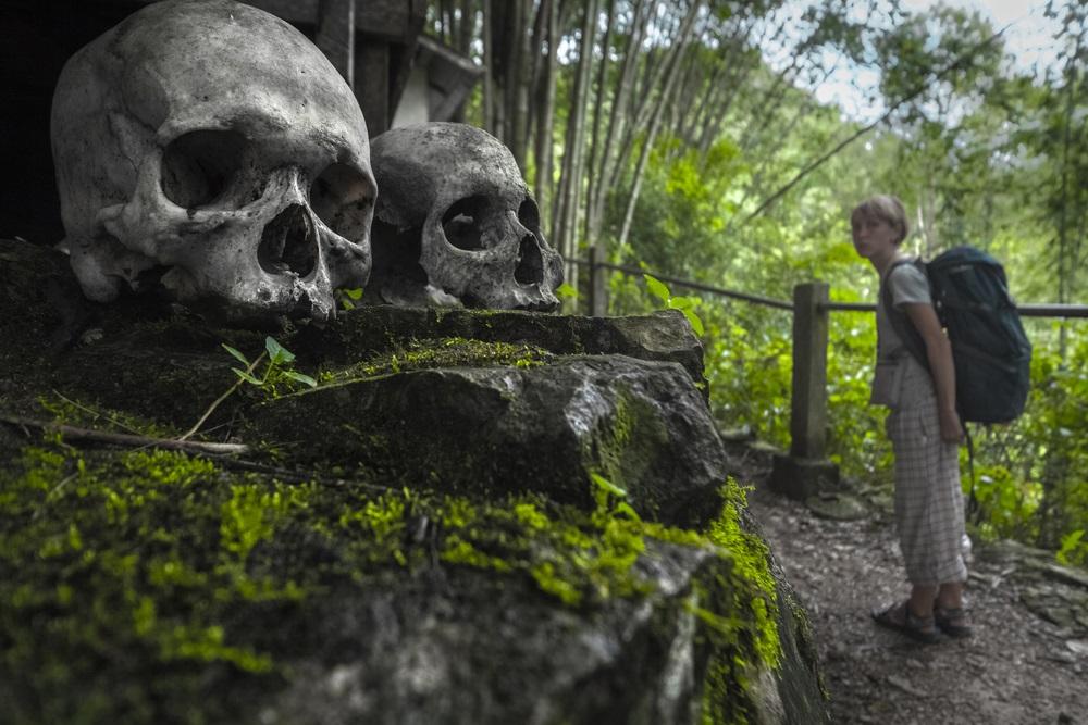 Toraja népcsoport Indonézia Celebesz holtak