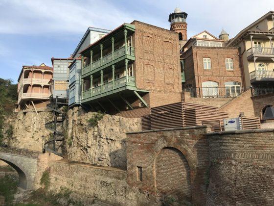 Grúzia óváros Tbiliszi