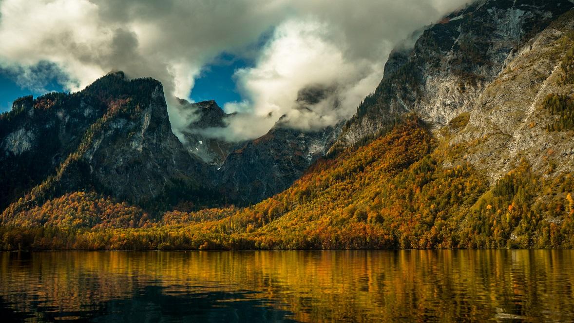 Königsee a Bajor-Alpokban