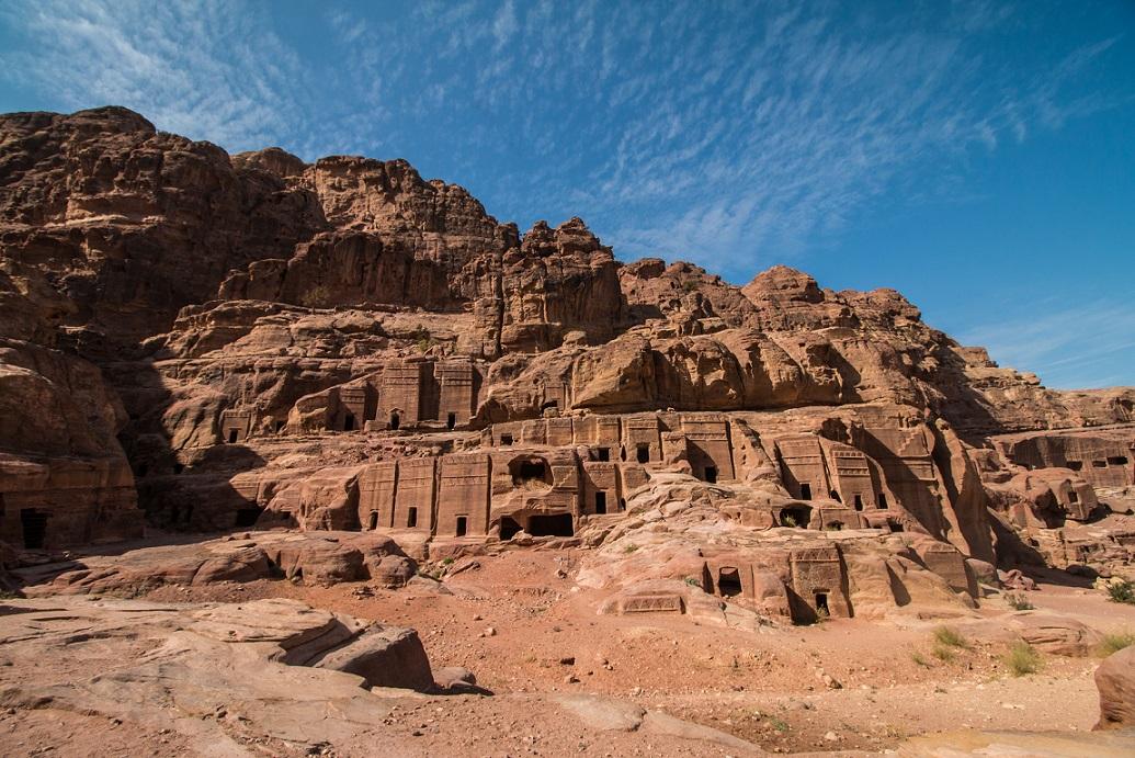 Nabateusok és Petra Jordániában