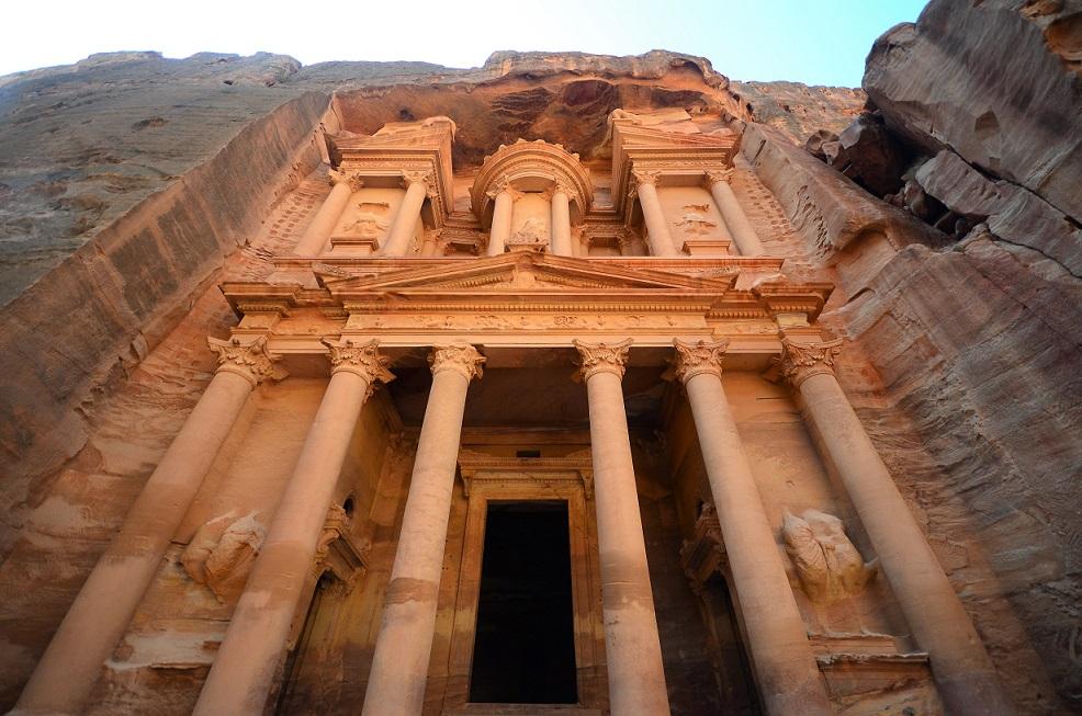 Petra főkönyvtára Jordániában