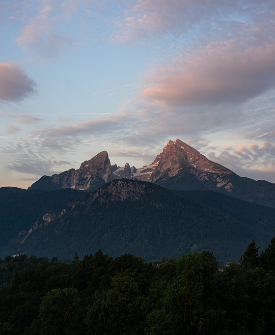 Watzmann Berchtesgaden Bajorország