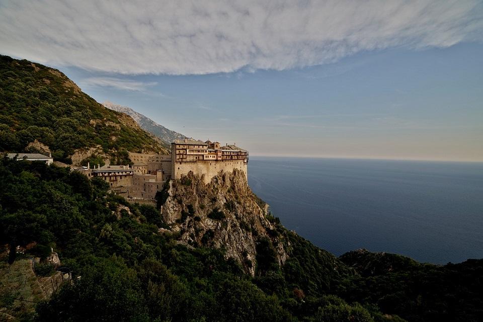 Athosz hegyi köztársaság keresztény kolostor