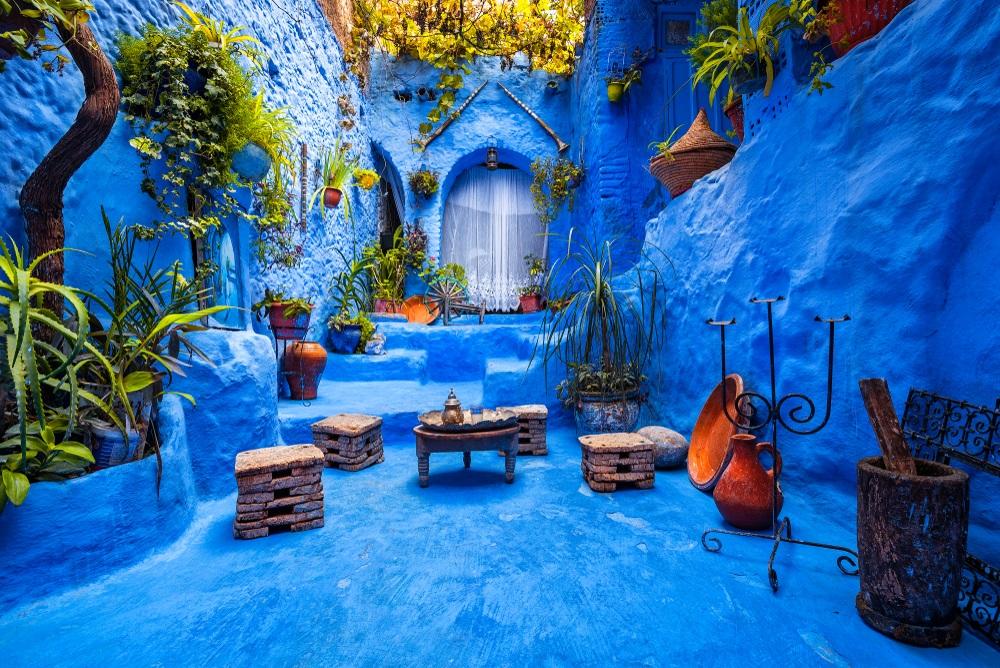 Az egyik legszebb fotóhely Chefchaouenben