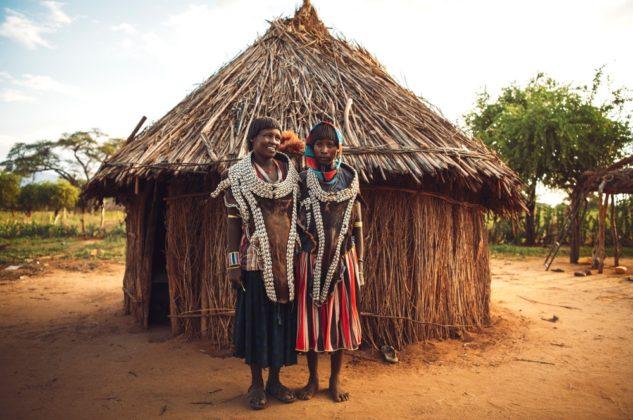 Hamer törzs Etiópia Omo völgy