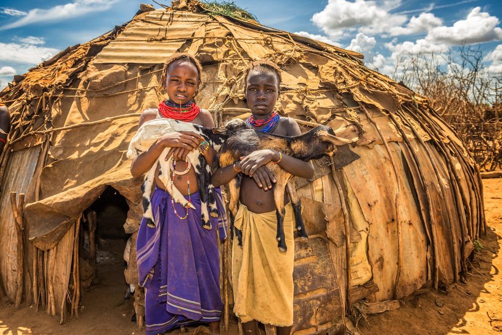 Omo völgy Etiópiában a turizmus hajnalán