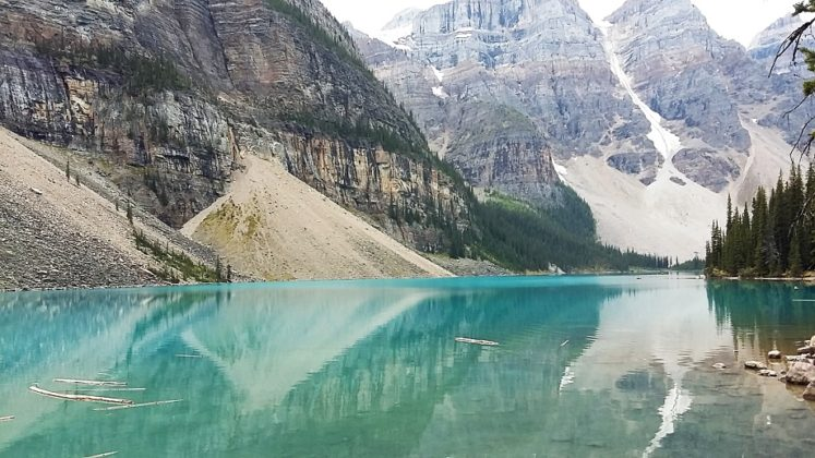 Kanada Sziklás hegység kalandutazás 1 Moraine Lake