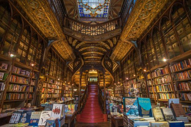 Livraria Lello Porto könyvesbolt
