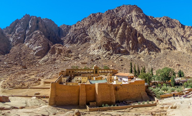 Szent Katalin monostor Egyiptom