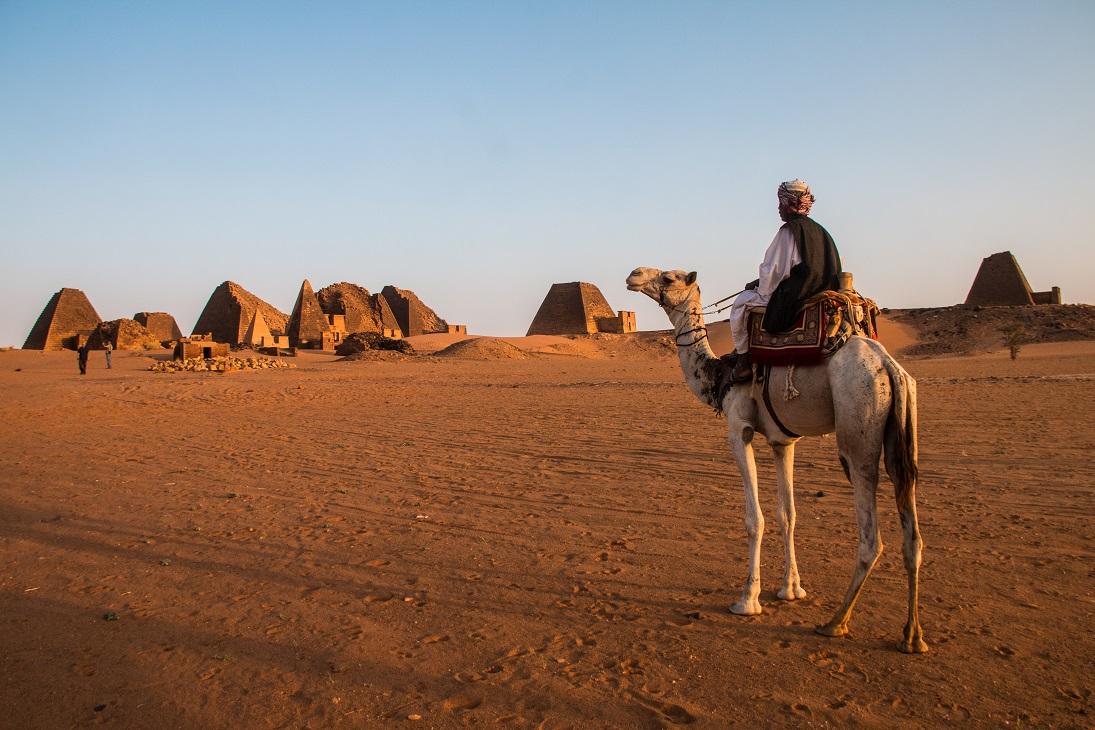 Szudán núbiai piramisok