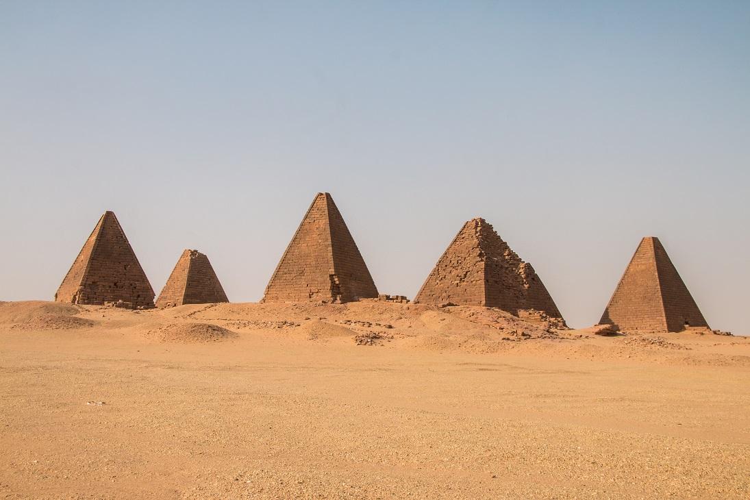 Szudáni piramisok