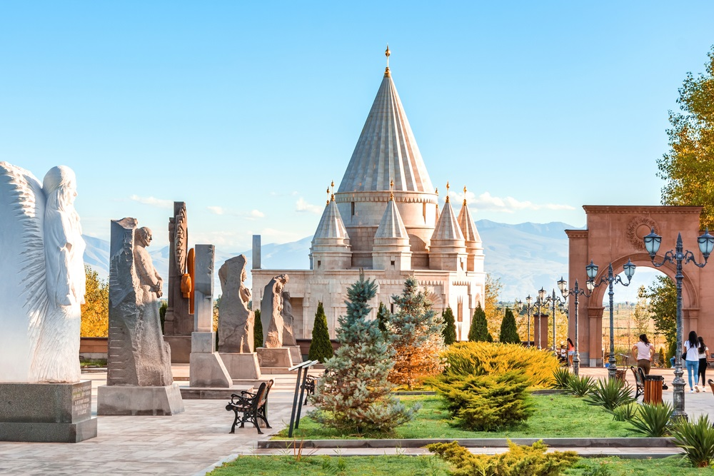 jeziditák jazidi vallás templom örményországban