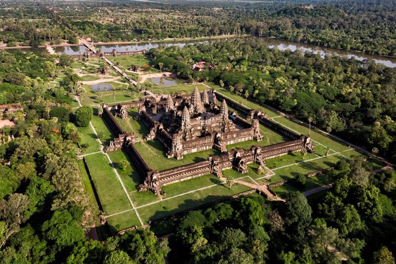 Angkor Wat templomai Kambodzsában