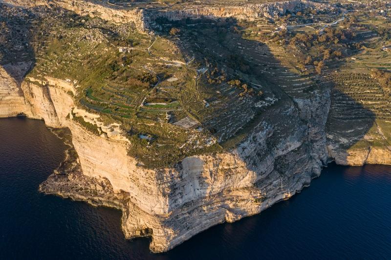 Dingli sziklák Máltán