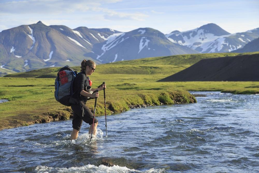 Laugavegur trekking izland