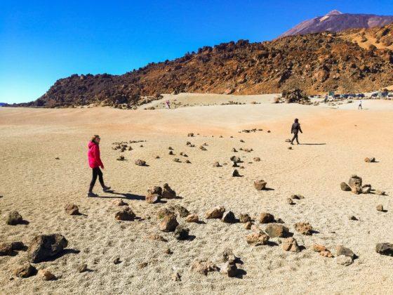 Túrázás a Teide nemzeti parkban Tenerifén