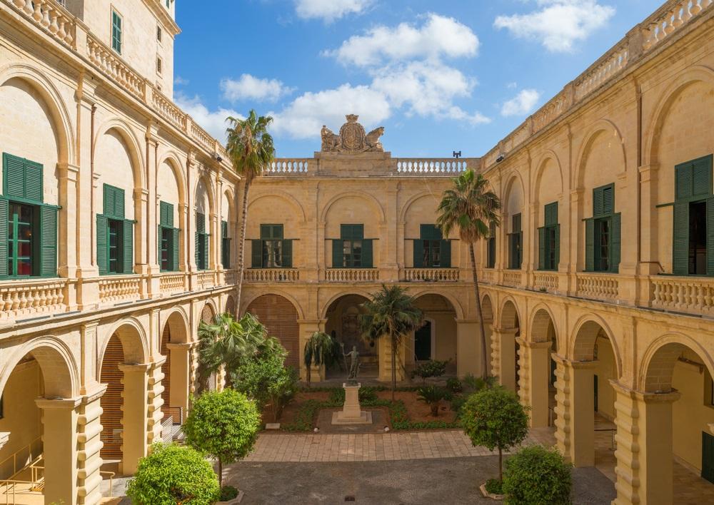 Grand Master's Palace Nagymester Palota Málta Valletta látnivalók