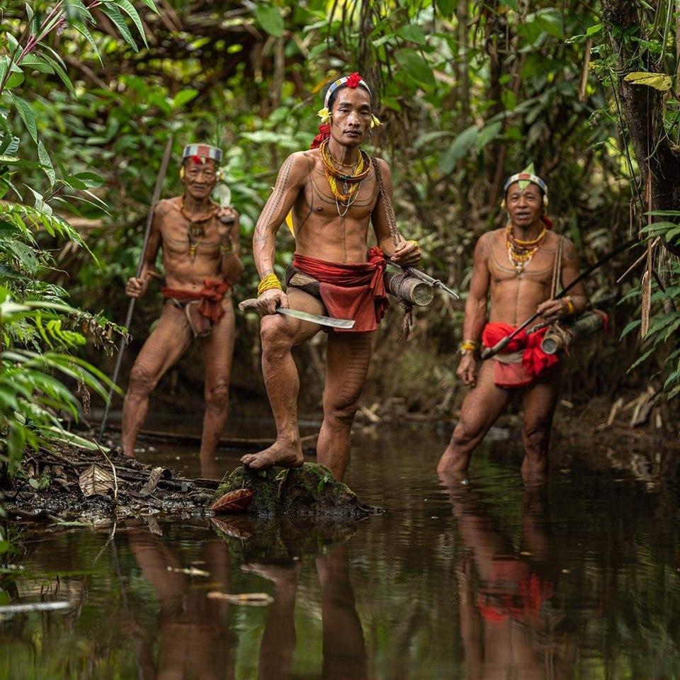 Mentawai törzs Indonéziában