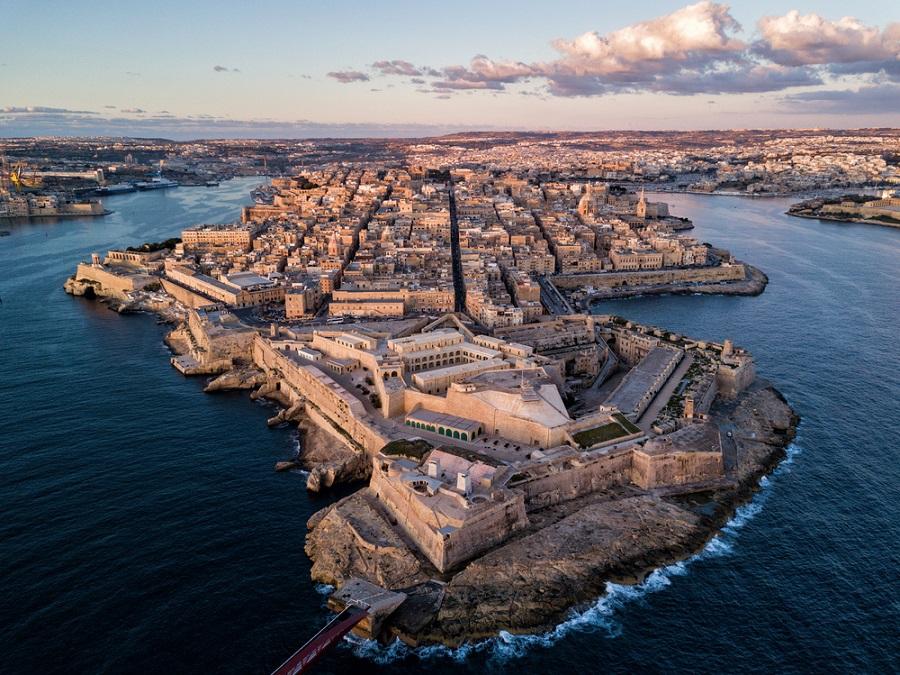 Szent Elmo erőd Fort of St Elmo Málta Valletta látnivalói nevezetességei