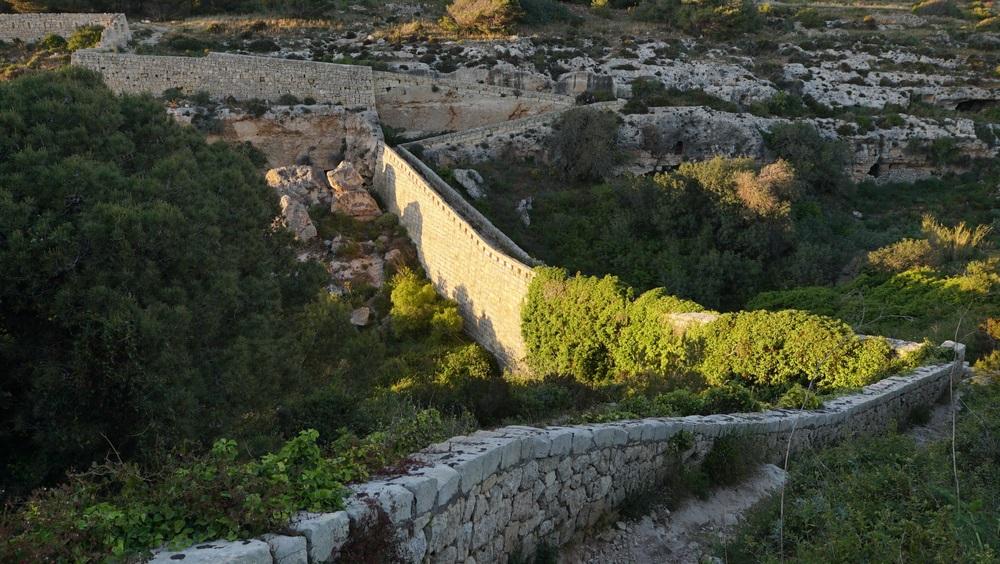 Viktória vonal Nagy fal Málta