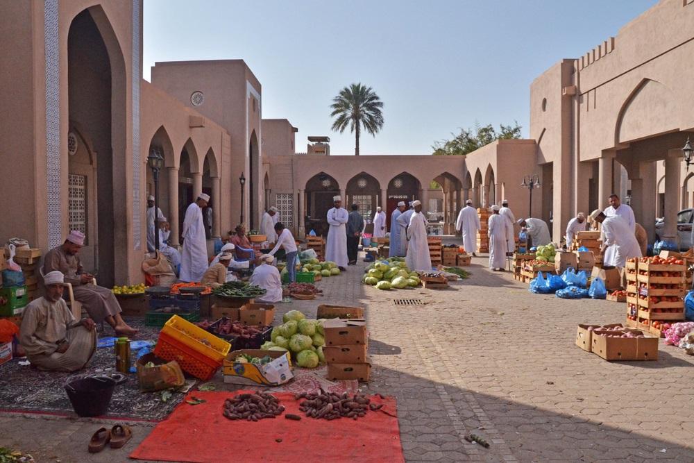 Omán Nizwa piac
