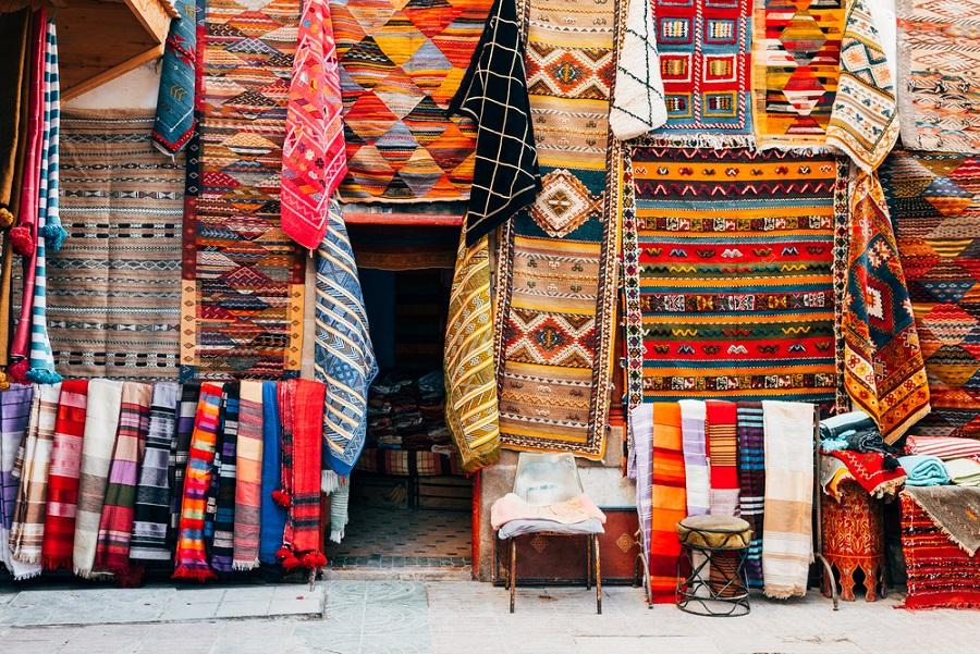 szőnyeg vásárlása Marokkóban