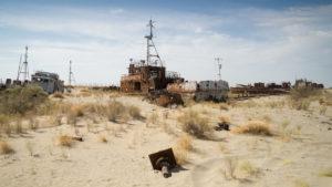 hajóroncsok a sós homokban