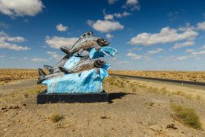 a kiszáradt Aral-tó