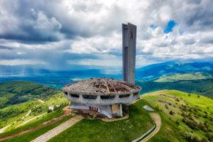 Buzludzsa-emlékmű Bulgáriában