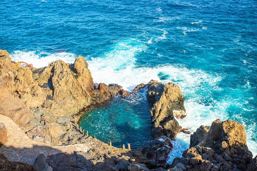 harco de La Laja San Juan de la Rambla tenerife strand