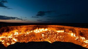Derweze kráter a pokol kapuja