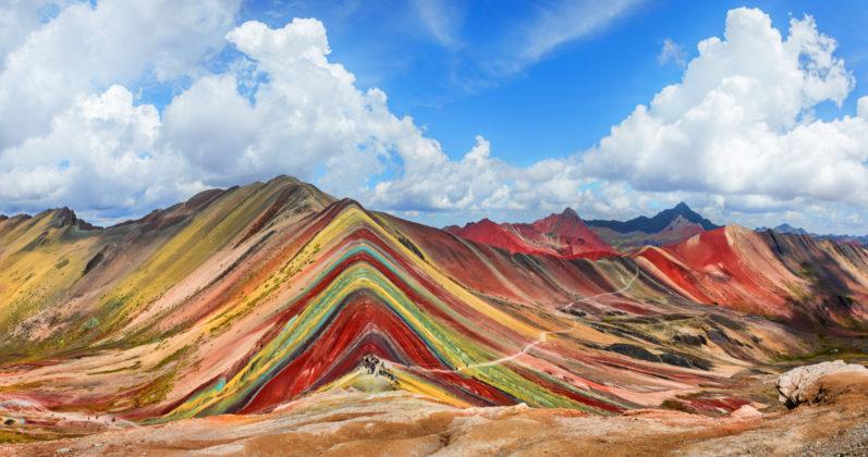 Vinicunca szivárvány hegyek Peruban