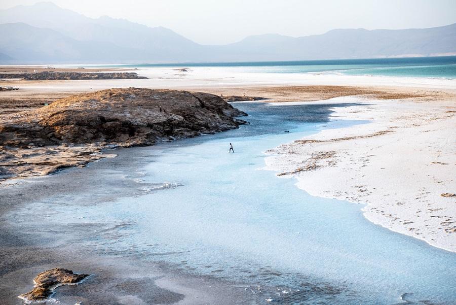 assal-tó mélyföld árok mélyföldek dzsibuti afrika