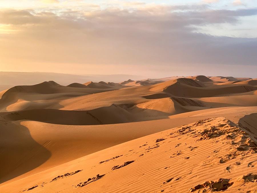 omán wahiba dűnék természet sivatag
