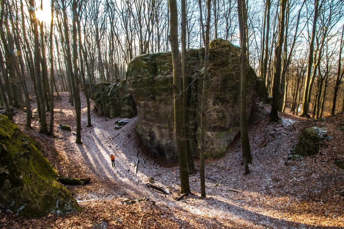 kéktúrázás kilátás vadálló-kövek pilis