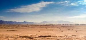 Neom város a sivatagban