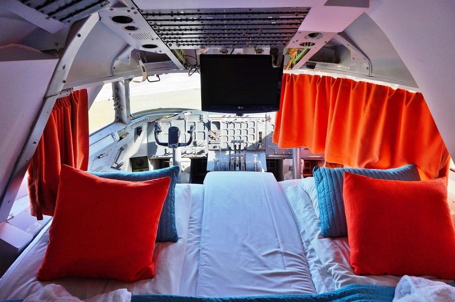 Extrém hostelek - Jumbo Stay