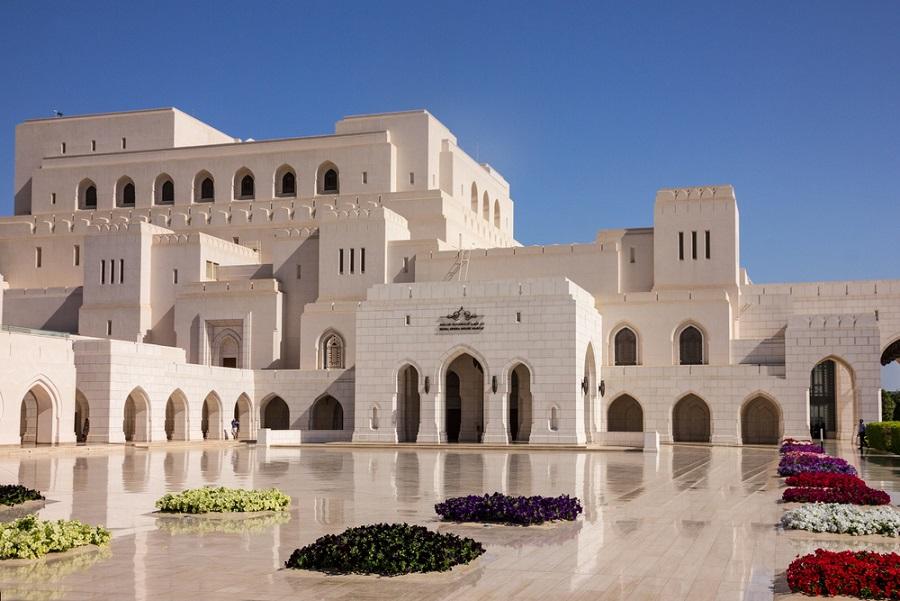 maszkat omán királyi operaház