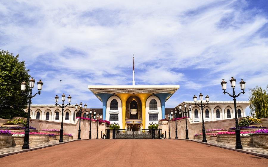 maszkat ománn al-alam palota