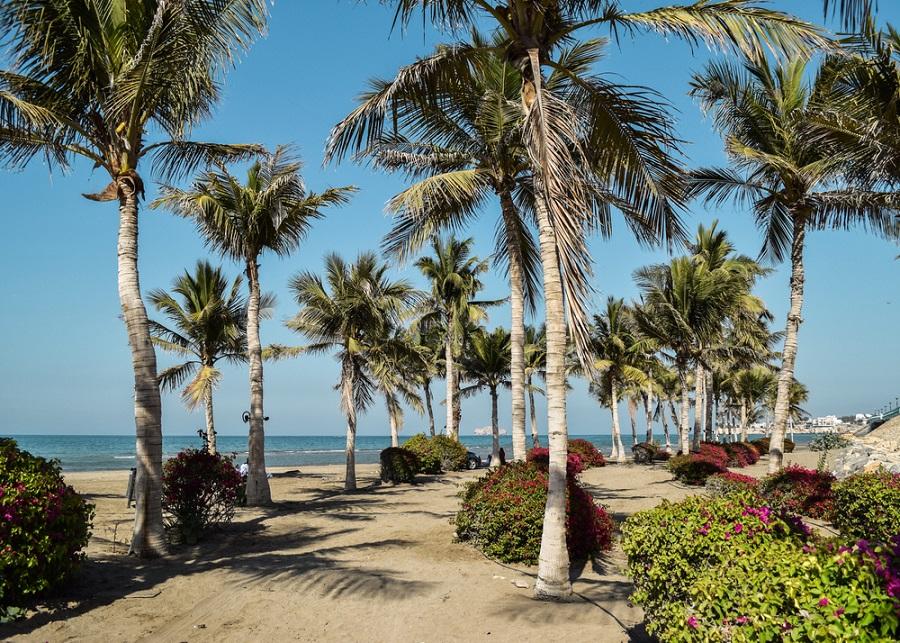 qurum tengerpart omán maszkat látnivalók
